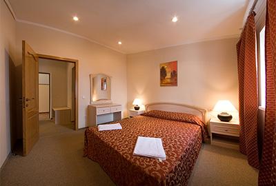 Люкс с видом на море - Отель Кедр-Запад в Алупке